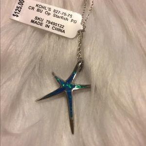 Jewelry - Genuine Opal Necklace NWT